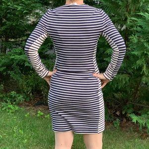 Tory Burch Dresses - EUC Tory Burch fitted stripe dress